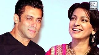 When salman khan offered a mother's role to juhi chawla?