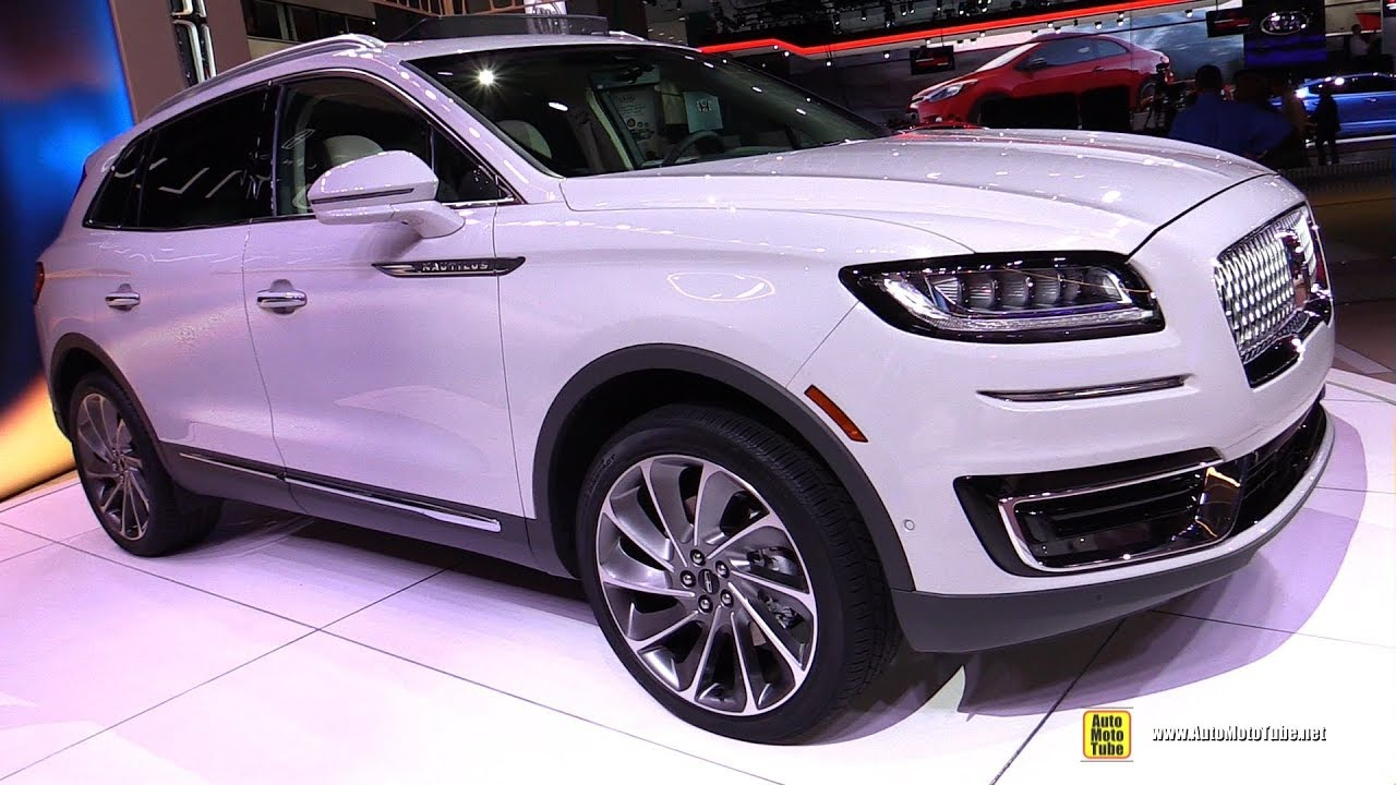 Car Show Pictures >> 2019 Lincoln Nautilus - Exterior and Interior Walkaround - Debut at 2017 LA Auto Show - YouTube