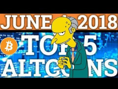 Top 7 Breakout Cryptocurrencies June 2018! 6x - 60x Potential! Top 7 Altcoins JUNE 2018