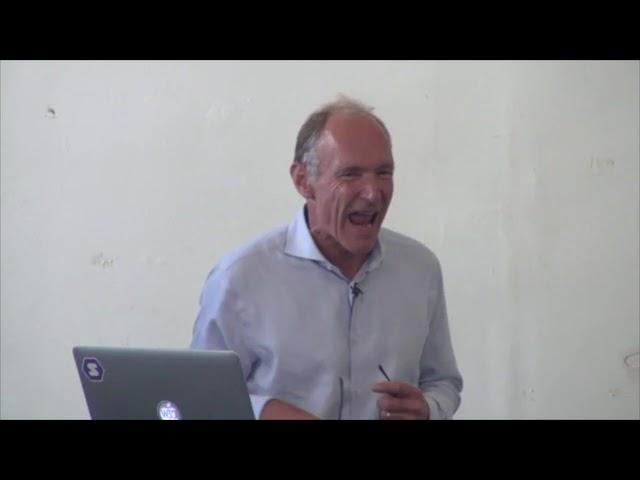 Tim Berners-Lee Demonstrates Solid (2018)