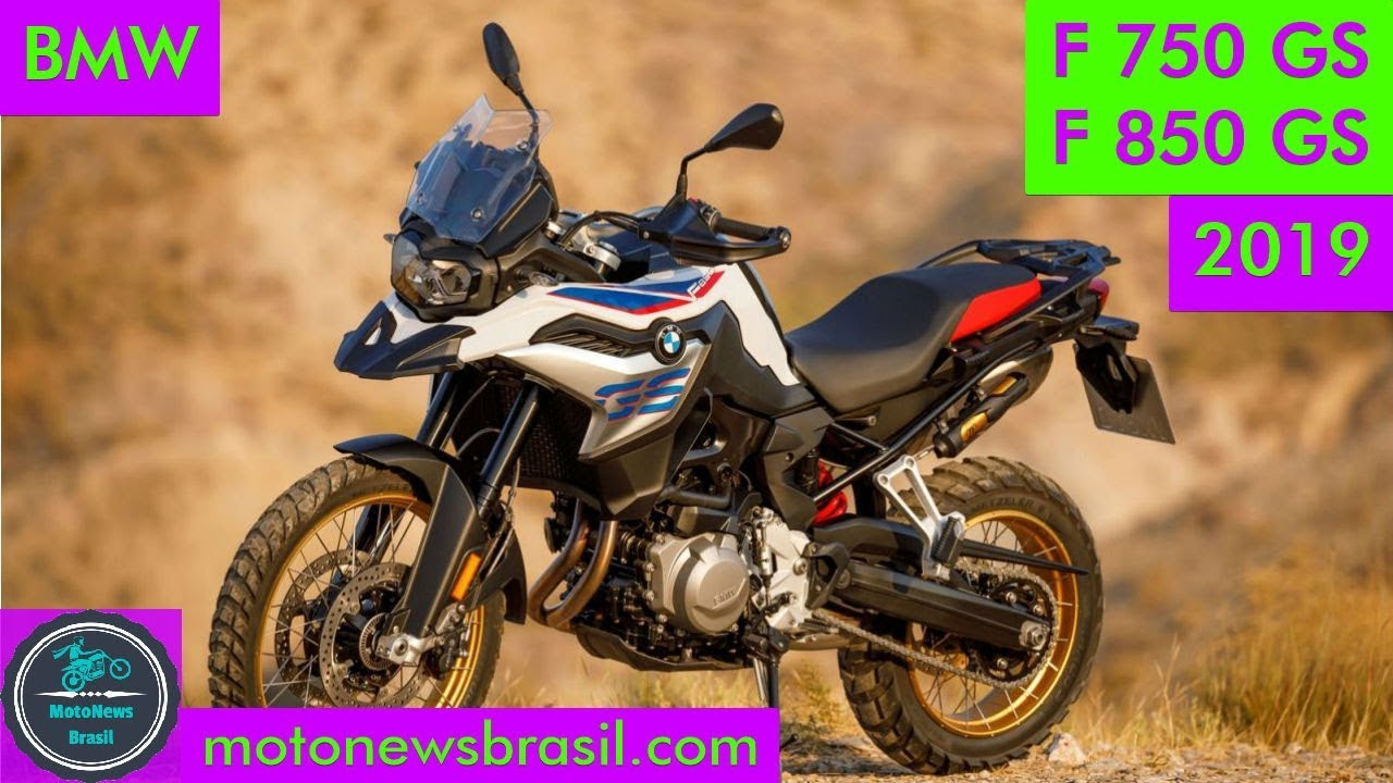bmw f 750 gs e f 850 gs 2019 confirmado chega no final. Black Bedroom Furniture Sets. Home Design Ideas