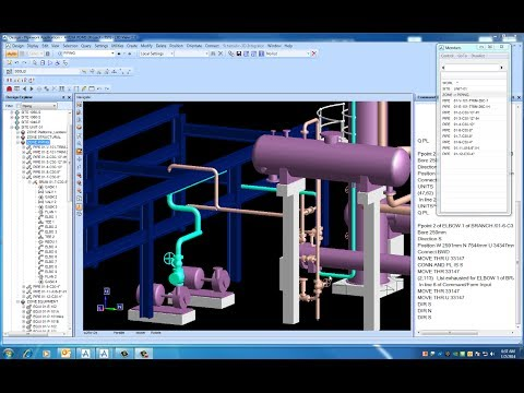 PDMS - PIPING THE PUMP SUCTION LINE