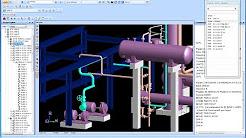 Plant Design Management System Pdms Youtube
