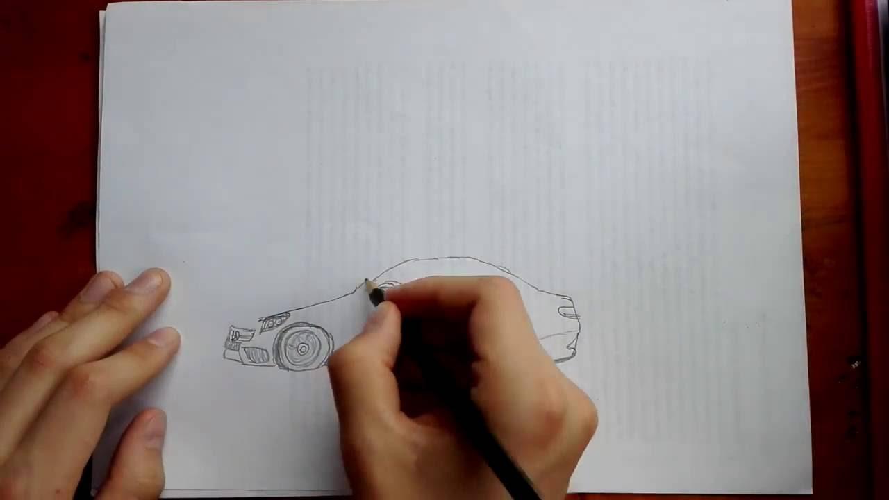 Mercedes Benz Amg C 43 Ecilop Zeichnen
