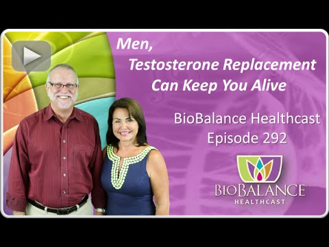 Men, Testosterone Replacement Can Keep You Alive
