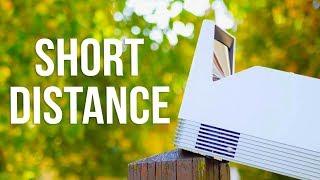 Best Short Distance Projector 2017 ! - LG ProBeam HF85JS UST Review
