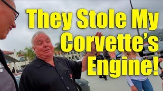 South OC Cars and Coffee - They Stole My Corvette's Engine!