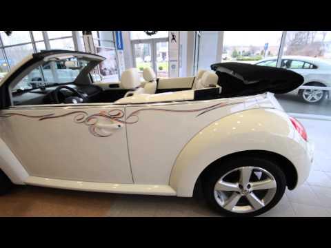 2007 Volkswagen New Beetle Convertible TRIPLE WHITE (stk# 40152A ) at Trend Motors VW Rockaway NJ