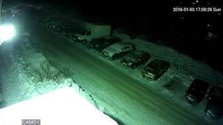 Улица Ночь 1080P 2Мп
