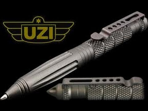 Uzi Tactical Pen Gun Metal Gray