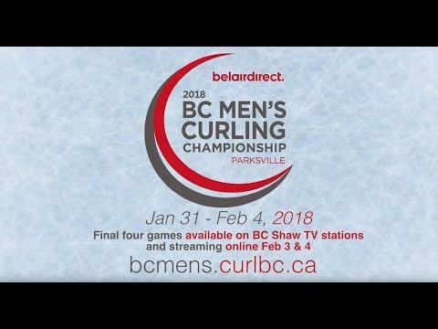 2018 BC Men's Curling Championship Page 3 vs 4 - Montgomery vs. Joanisse