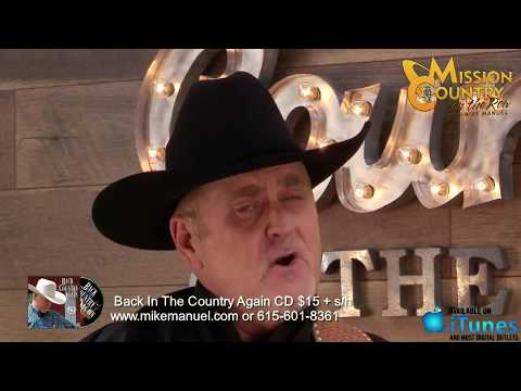 MISSION COUNTRY on the ROW with MIKE MANUEL #46: Live Interactive Music Show Featuring the Origin...