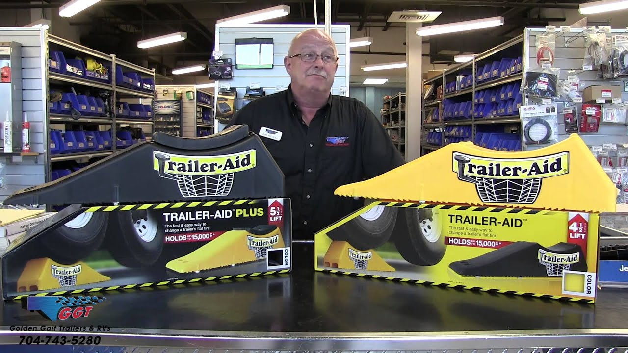 Trailer Aid Tandem Tire Changing Ramp Youtube