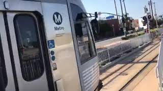 The Metro Gold Line Arrive At IDIANA Station