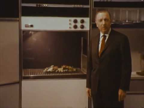 Walter Cronkite in the Kitchen of 2001 (1967)