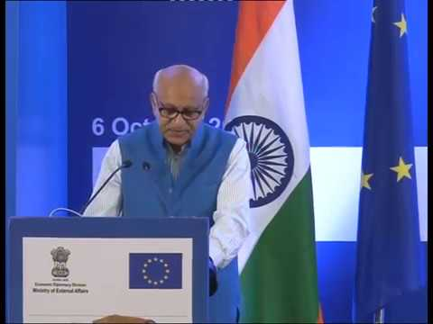 Adress by  M.J Akbar, MoS at India - EU Business Forum (October 06 2017)