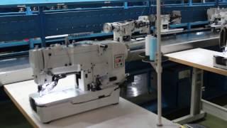 Збірка петельної машини Jack jk 781 на заводі