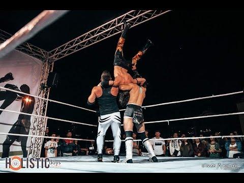 Flyin' Gabriel Vs Ricky Awesome Vs David Karm - 25/05/2018 - IWA (Italian Wrestling Association)