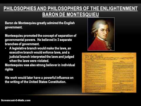 20-3 The Enlightenment: Philosophies of Classical Liberalism