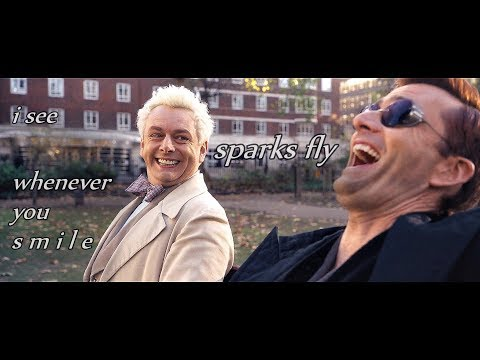 Crowley & Aziraphale || Sparks Fly