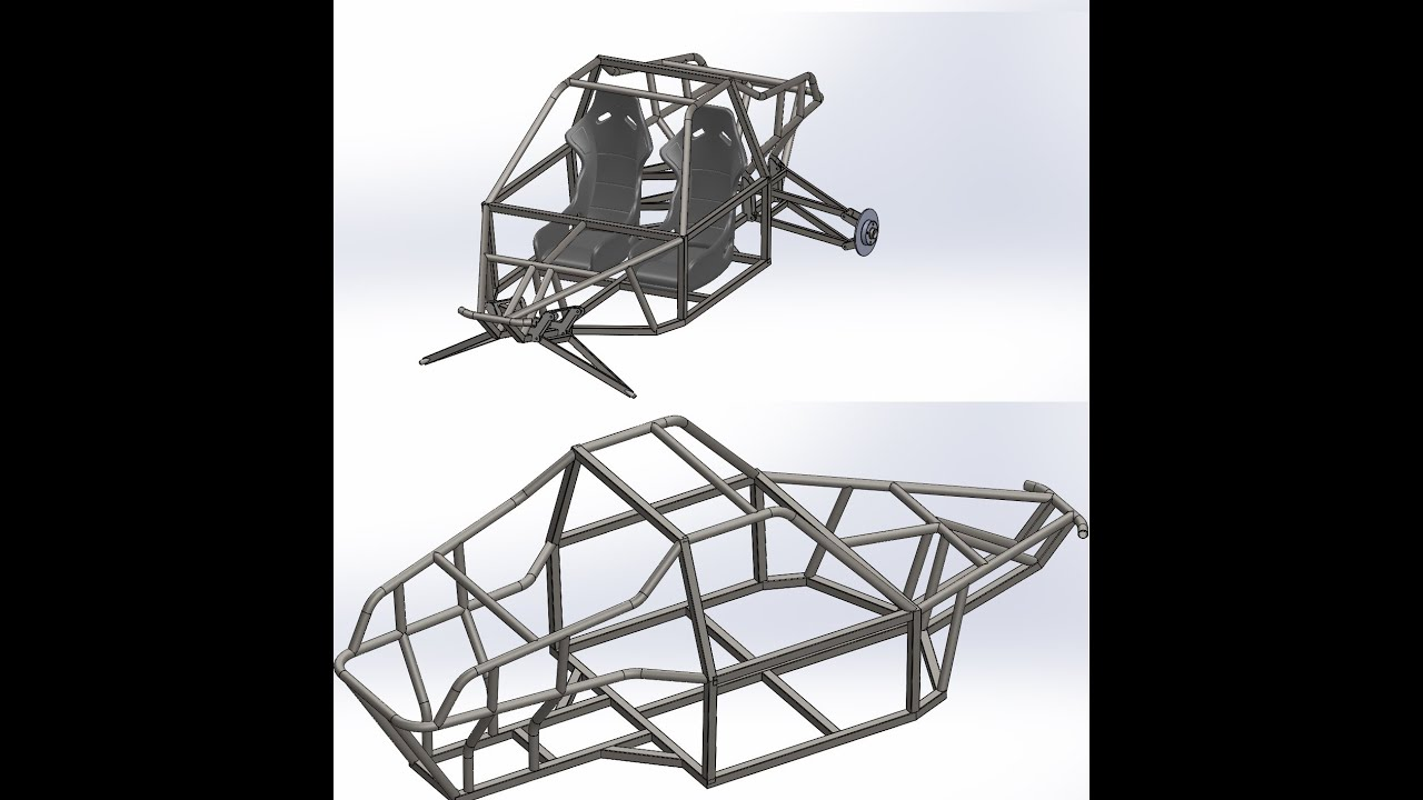 BadLandBuggy ST4 Plans/Drawings - Redesigning ST4 in SolidWorks ...