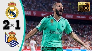 Реал Мадрид Реал Сосьедад 2 1 Обзор Матча Чемпионата Испании 21 06 2020 HD
