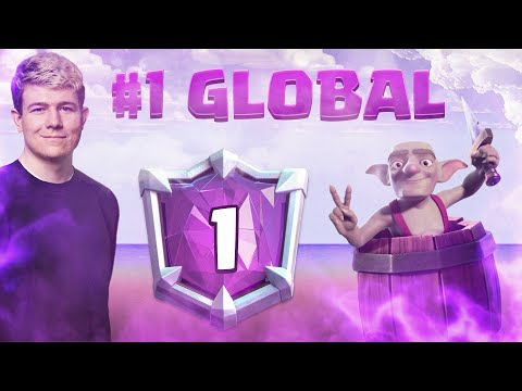 🏆#1 IN THE WORLD WITH LOGBAIT! TOP LADDER GAMEPLAY - Clash Royale