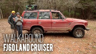 Built 4 Adventure - Walkaround: FJ60 Land Cruiser