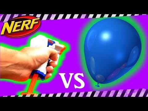 Nerf Gun Vs Water Balloons 🔫🎯 (#spottheninja) 🔎