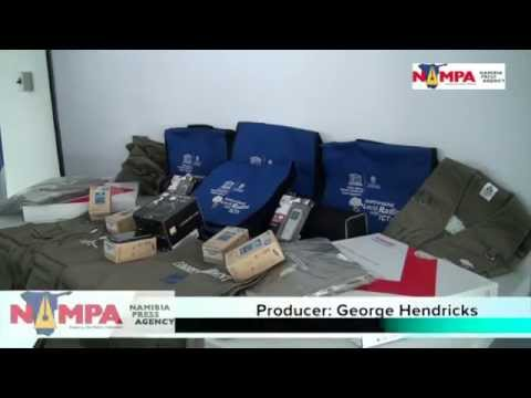 NAMPA: WHK ICT equipment to !aH Radio 24 APR 2014