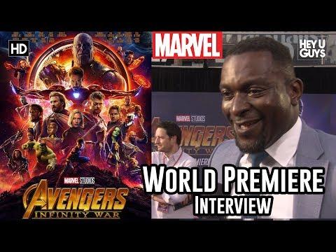 Michael Shaw (Corvus Glaive) - Avengers Infinity War World Premiere Interview