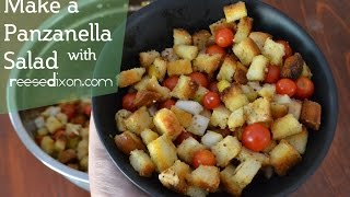 Delicious Panzanella Salad!