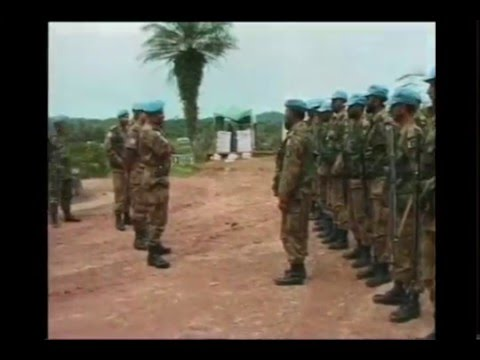 Pakistan army peace keeping missions in Africa