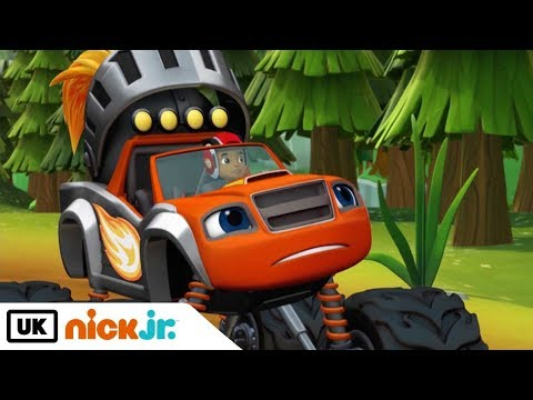 Blaze and the Monster Machines | Knighty Knights | Nick Jr. UK
