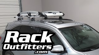 Acura MDX with Thule 864XT Trail Roof Top Cargo Basket