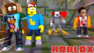 ES DIE CLOWN TURNS DONUT INTO JASON - Roblox Gaming-Abenteuer