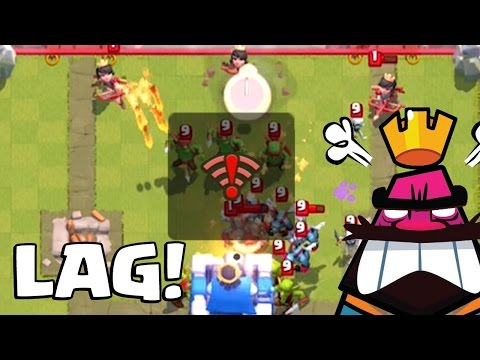 WORST LAG EVER IN CLASH ROYALE | Grand Challenge Funny Moments