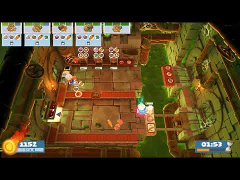 (2players) Overcooked2 Night of the Hangry Horde 1-3 [score: 2468] |