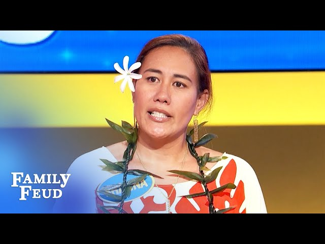 DING! When the #1 answer is... you! | Family Feud