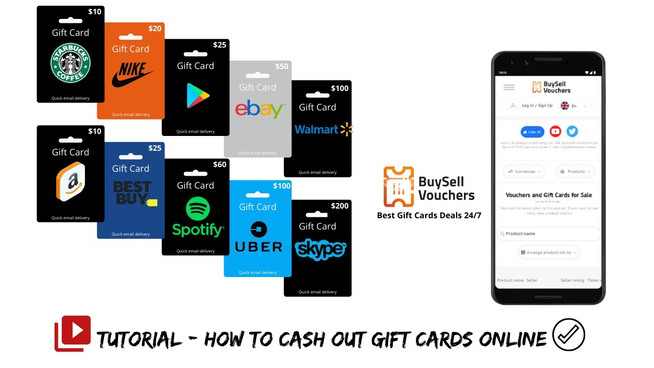 Cash Out Gift Cards With No Fee Simple Tutorial Youtube