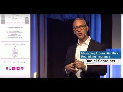 Managing Exponential Risk, Rethinking Insurance | Daniel Schreiber | Exponential Finance