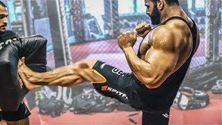 Bodybuilder beim K1 Kampfsport! Muss Vito aufhören? #4