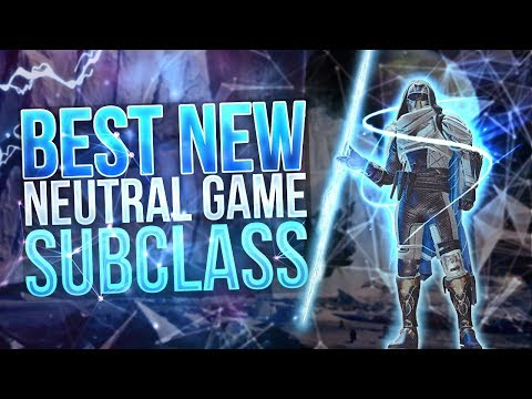 Best Neutral Game Subclass! (Destiny 2 Arcstrider PVP)