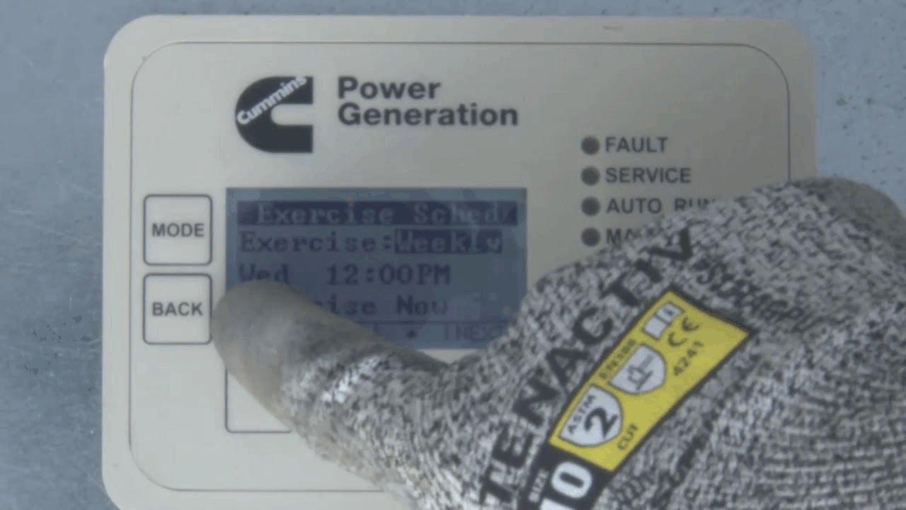 cummins air cooled generator set installation part 4 generator set control configuration [ 1280 x 720 Pixel ]