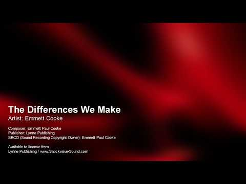 The Differences We Make - Emmett Cooke (Lynne Publishing)