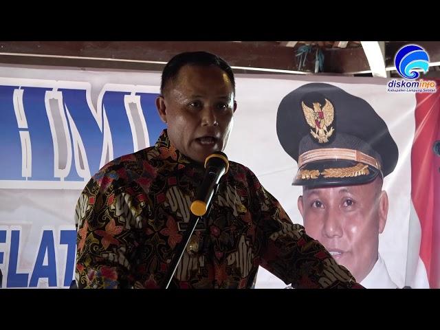 Plt. Bupati, Nanang Ermanto Gelar Silaturahmi Dengan 200 Pelaku Usaha Lamsel