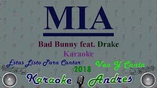 Mia - Bad Bunny feat. Drake [ Karaoke ] Produce Cristian Remix