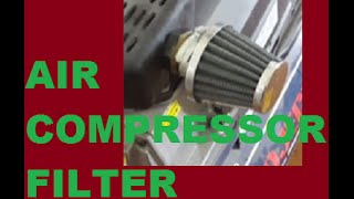 air compressor filter replacement or upgrade hd
