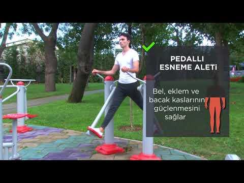 Sokak Egzersizleri | Pedallı Esneme Aleti