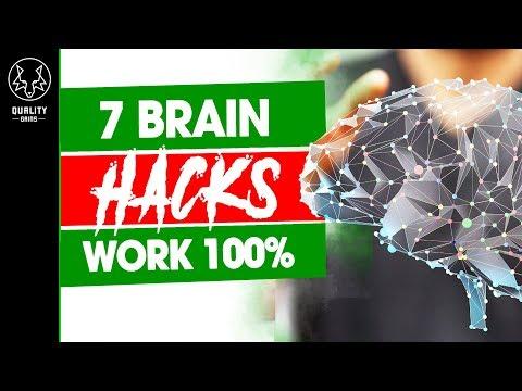 7 Hacks To Improve Brain Performance (Works 100%!)